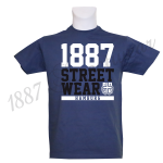T-Shirt DB '1887 Louis H.', denimblau