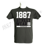 T-Shirt DG '1887 Louis H.', darkgray