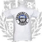 Kinder-T-Shirt W 'Hamburg City', weiß