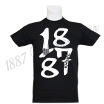 T-Shirt B 'BIG 1887', schwarz