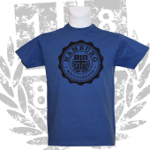 T-Shirt RB '1887 College_BK', royalblau