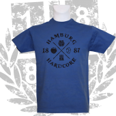 T-Shirt RB '1887 Hardcore_BK', royalblau