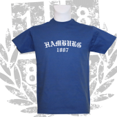 T-Shirt RB 'Old HH 1887_WH', royalblau