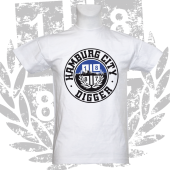 T-Shirt W 'HH City Digger', weiß