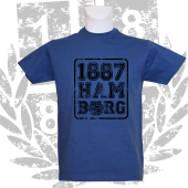 T-Shirt RB Ham1887burg', royalblau
