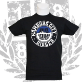 T-Shirt B 'Hamburg City', schwarz