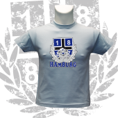 Kinder-T-Shirt SB '1887 Teddy', hellblau