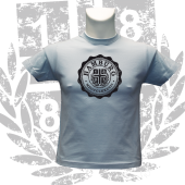 Kinder-T-Shirt SB '1887 College', hellblau