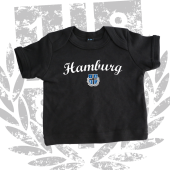 Baby-T-Shirt 1887 New HH, schwarz