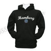 Kinder-Hoody B '1887 New Hamburg', schwarz