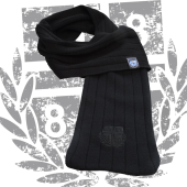 Fashion Scarf Schal '1887 Ton in Ton', schwarz