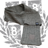 Fashion Scarf '1887 Ton in Ton', Grau