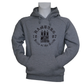 Hoody G 'Pride of the North', grau