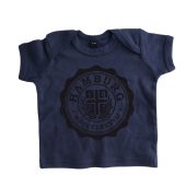 Baby-T-Shirt '1887 College`, navy