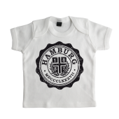 Baby-T-Shirt '1887 College`, weiss