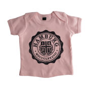 Baby-T-Shirt '1887 College`,pink