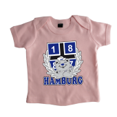 Baby-T-Shirt '1887 Teddy`, pink