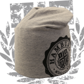 Long Beanie G 'College', grau