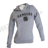 Frauen-Hoody G 'Super HH', grey