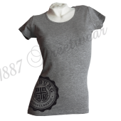 G-Shirt G '1887 College II', grau