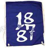 Turnbeutel rb 'BIG 1887', royalblau