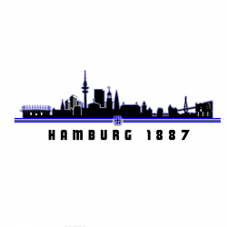 Kinder-T-Shirt W '1887 Skyline', weiss