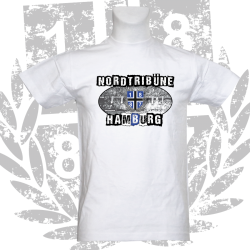 T-Shirt W 'Nordtribüne_CE', weiss