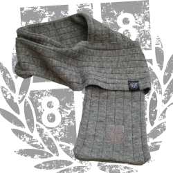 Fashion Scarf Schal '1887 Ton in Ton', Grau
