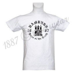 T-Shirt W 'Pride of the North', weiß