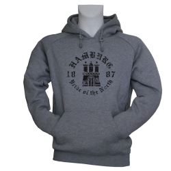 Hoody G 'Pride of the North', grau meliert