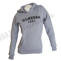 Frauen-Hoody G 'Old HH 1887, grey