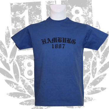 T-Shirt RB 'Old Hamburg 1887', royalblau