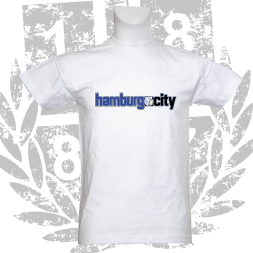 T-Shirt W 'Hamburg City', weiß