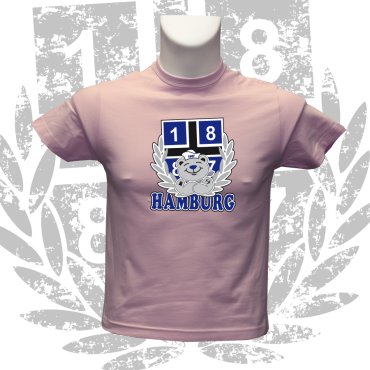 Kinder-T-Shirt P '1887 Teddy', pink