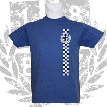 T-Shirt RB '1887 Karo',royalblau