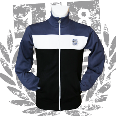 Retro Jacke/Track Top '1887 Stripes'