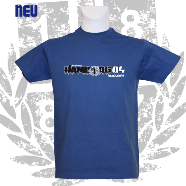 T-Shirt RB 'HAMBURG 0:4', royalblau