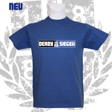 T-Shirt RB 'DERBYSIEGER', royalblau