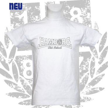 T-Shirt W 'Hamburg Old School', weiss