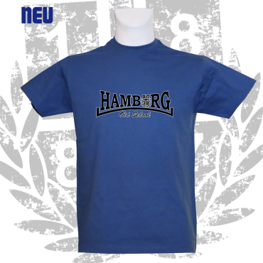 T-Shirt RB 'Hamburg Old School', royalblau