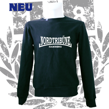 Sweater B 'Nordtribüne Hamburg', schwarz