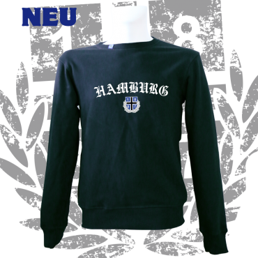 Sweater B '1887 Old HH', schwarz