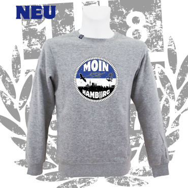 Sweater G 'Moin Hamburg', grau