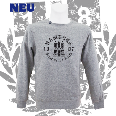 Sweater G 'Pride of the North'_bk, grau