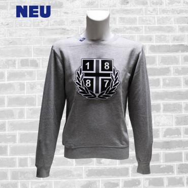 Sweater B '1887 Lorbeer 2021', grau