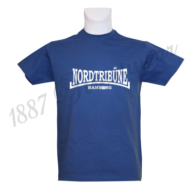 T-Shirt RB 'Nordtribüne HH_WH', royalblau