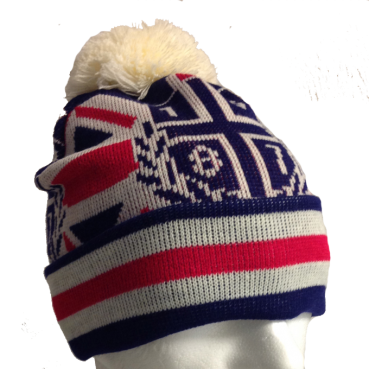 Bobble Hat 1887 Union Jack Original
